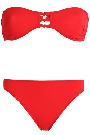 IRIS & INK Sadie cutout bandeau bikini