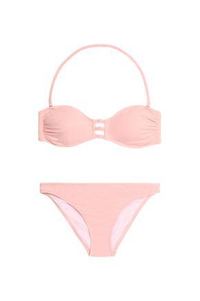 IRIS & INK Knotted bandeau bikini