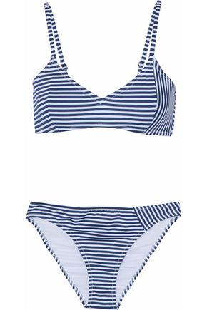 IRIS & INK Striped triangle bikini