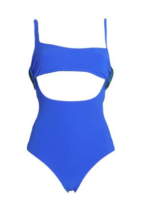 ALIX Convertible stretch-knit swimsuit