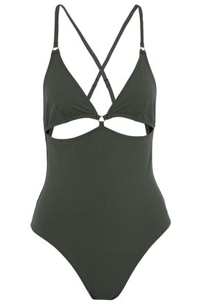 T by ALEXANDER WANG Cutout swimsuit