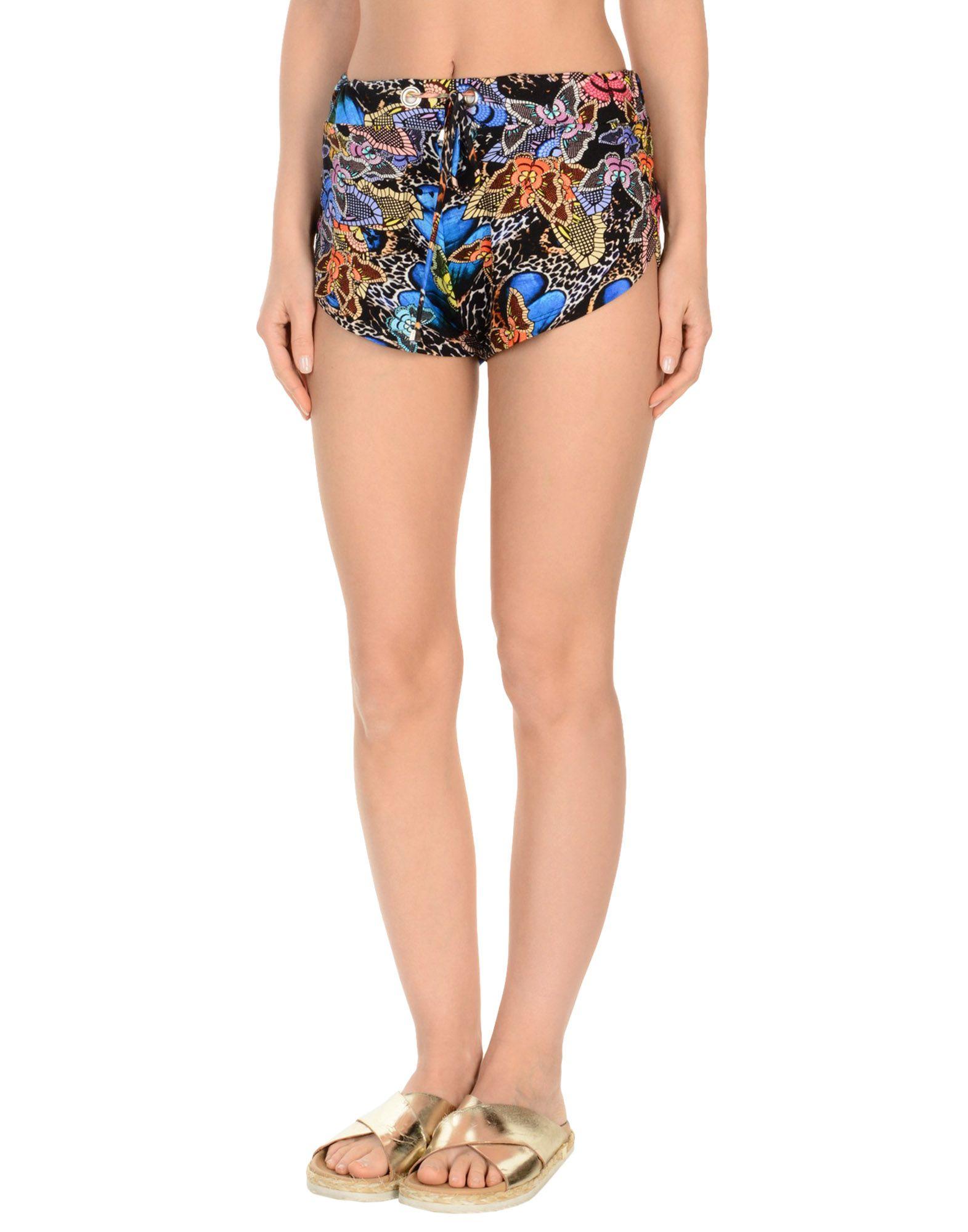 MISS BIKINI LUXE Пляжные брюки и шорты halter crisscross cropped bikini set