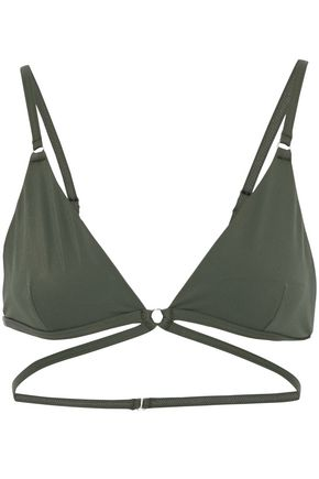T by ALEXANDER WANG Triangle bikini top