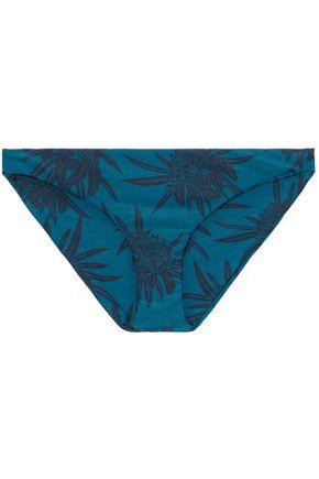 MIKOH Miyako printed low-rise bikini briefs