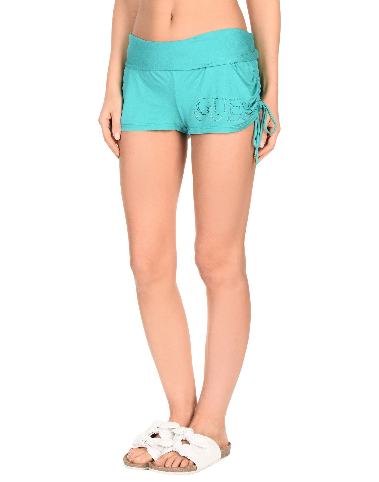 GUESS Пляжные брюки и шорты шорты guess guess gu460ebznf08