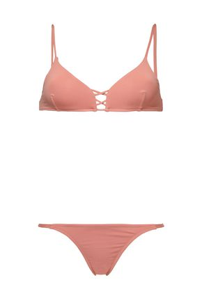 MELISSA ODABASH Lace-up bikini