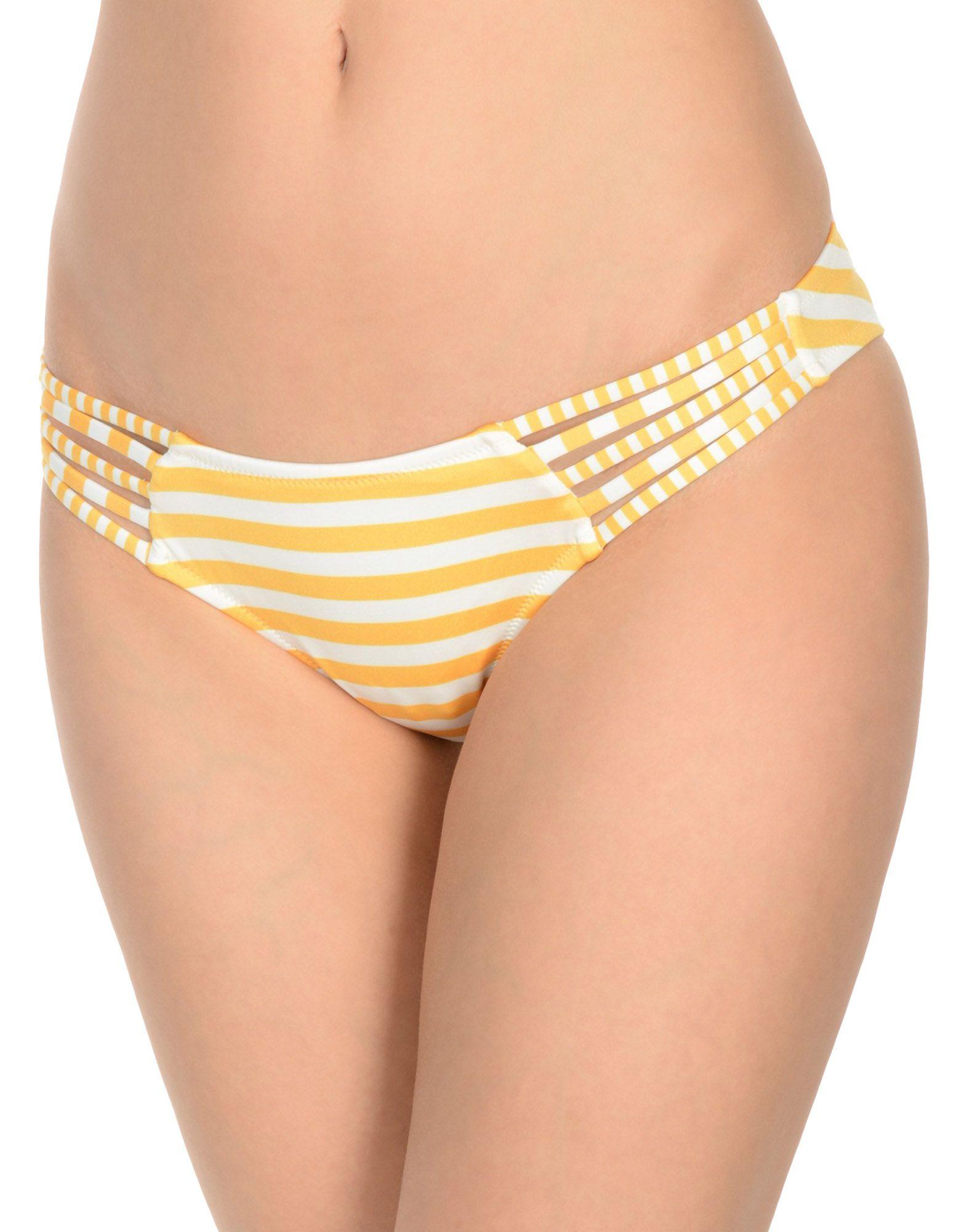 《送料無料》PAOLITA レディース 水着(ビキニパンツ) オレンジ XS ナイロン 80% / ポリウレタン 20%