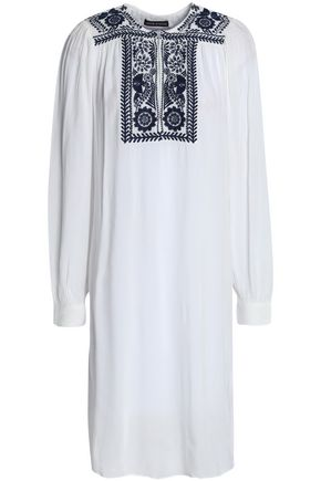 ANTIK BATIK Embroidered chiffon cover up