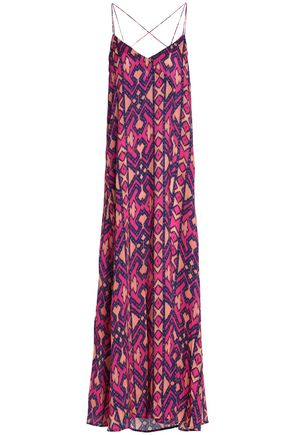 VIX PAULAHERMANNY Printed jersey maxi dress