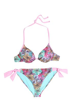 MATTHEW WILLIAMSON Floral-print underwired bikini