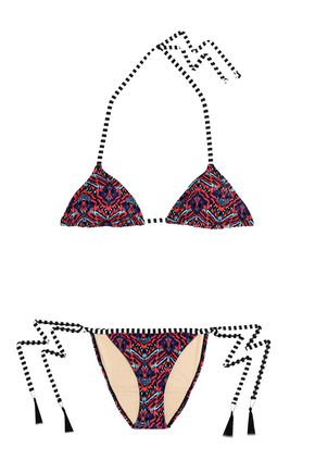 TART COLLECTIONS Printed triangle bikini