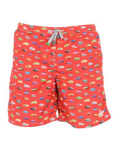Купить Шорты для плавания от MACCHIA J красного цвета