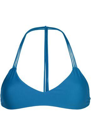 MIKOH Strech-knit bikini top