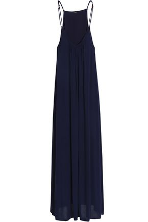 HEIDI KLUM SWIM Draoed cady maxi dress