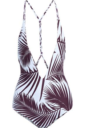 MIKOH Printed swimsuit