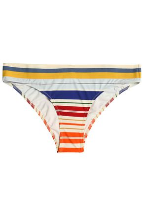 STELLA McCARTNEY Striped low-rise bikini briefs