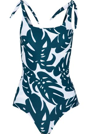 MIKOH Pupukea printed swimsuit