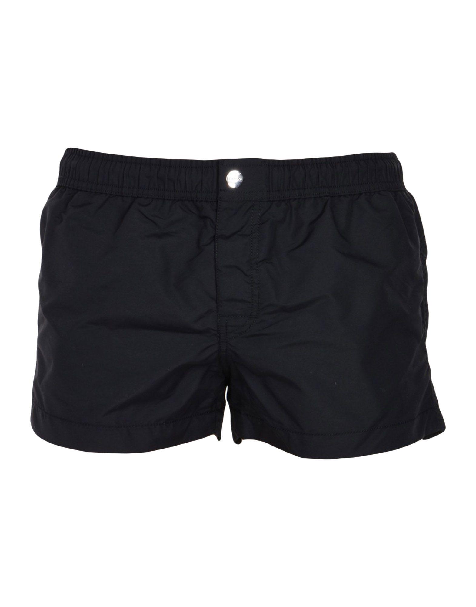 《送料無料》BIKKEMBERGS メンズ 水着(ボクサーパンツ) ブラック L ナイロン 100%