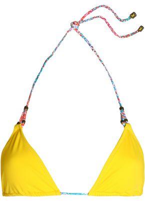 HEIDI KLUM SWIM Sun Muse braided-trimmed triangle bikini top