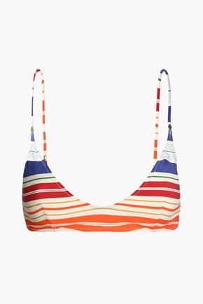 STELLA McCARTNEY Striped bikini top