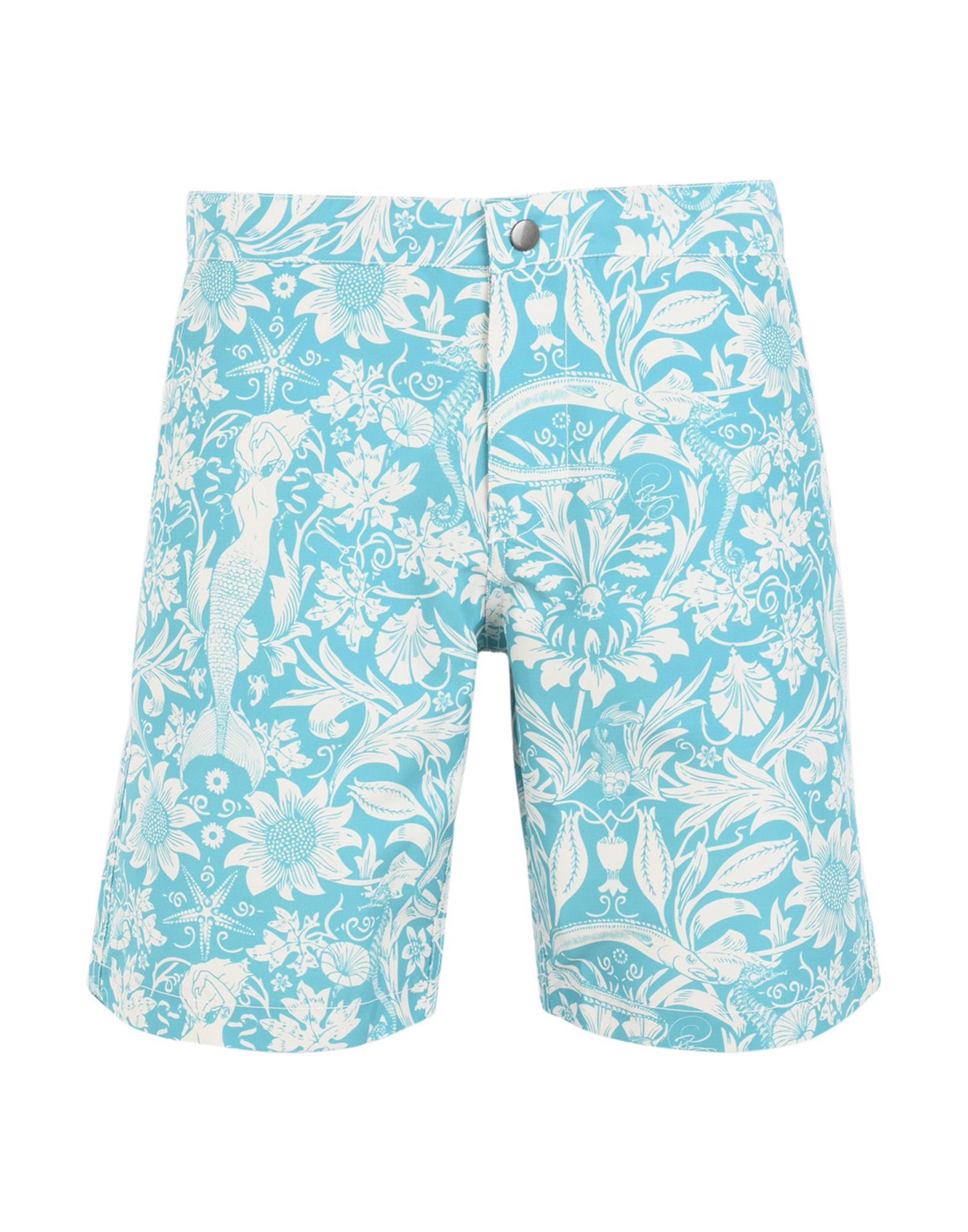 RIZ BOARDSHORTS Swim Shorts in Turquoise