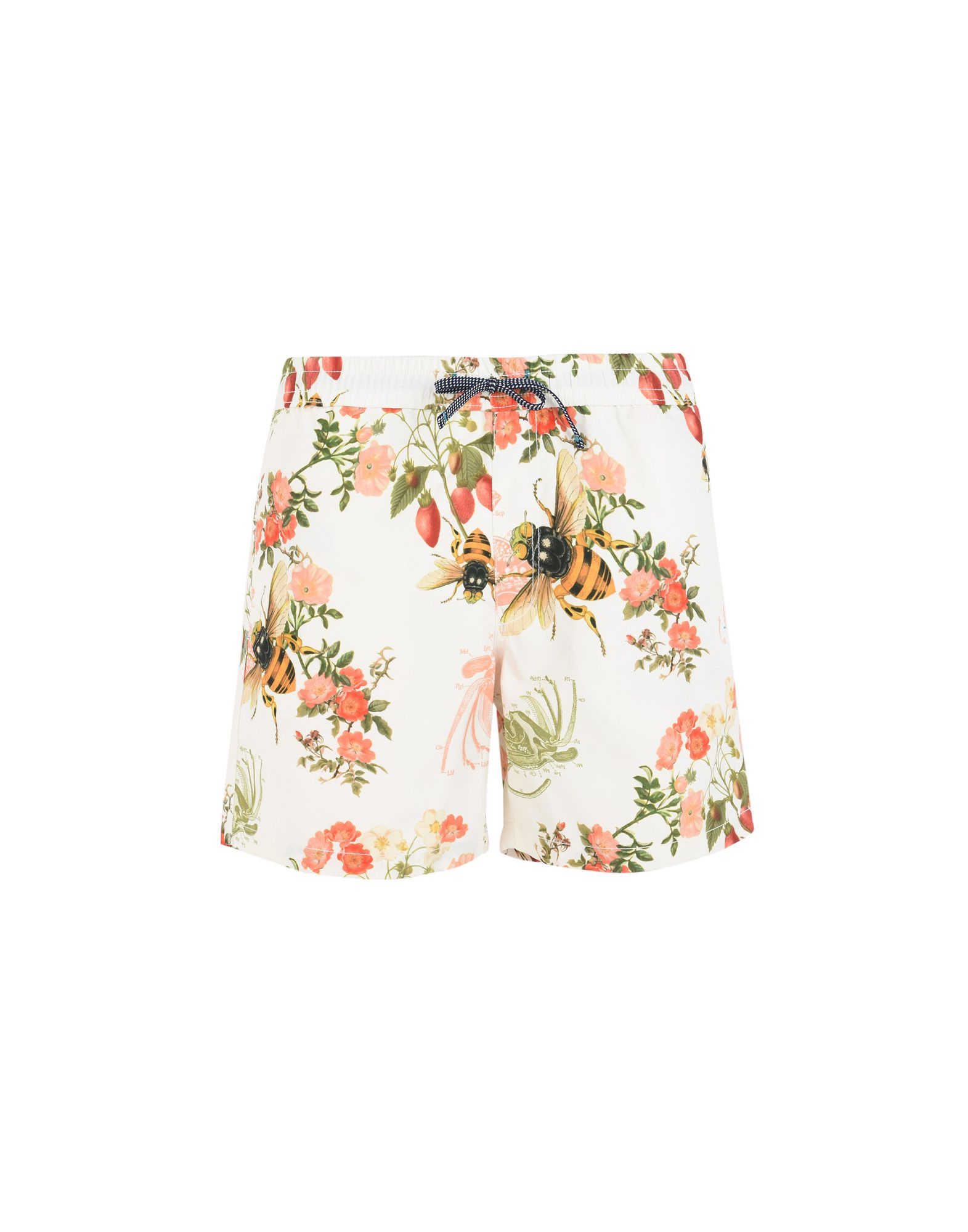 RIZ BOARDSHORTS Swim Shorts in White
