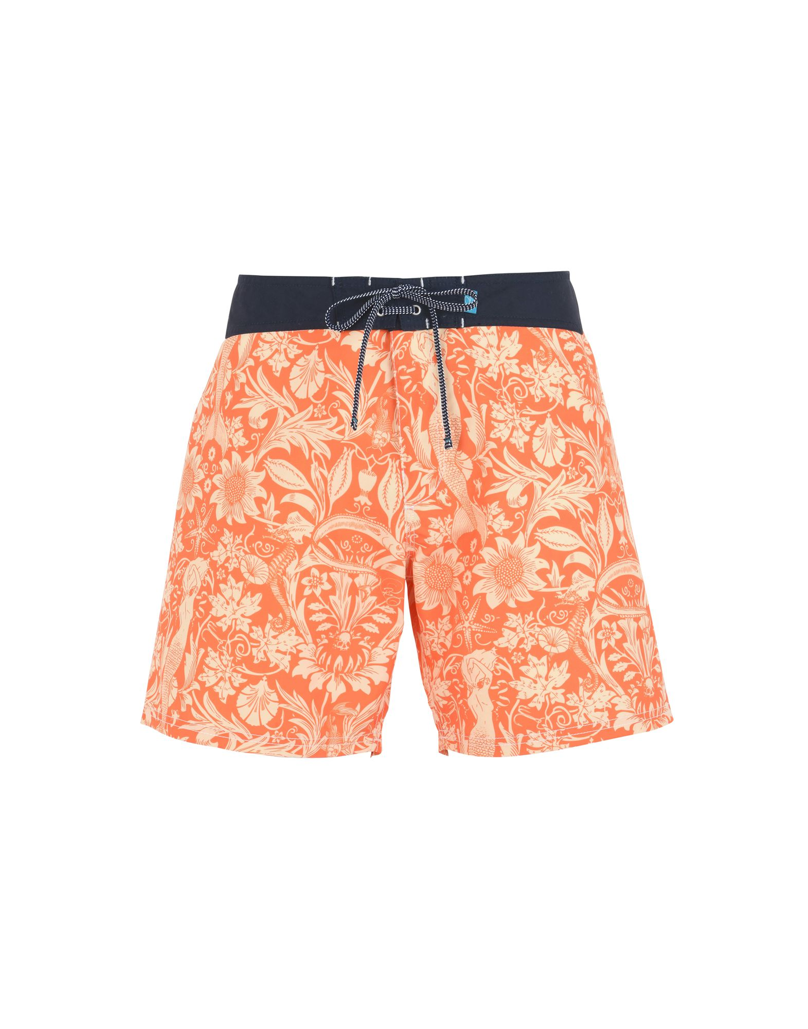 RIZ BOARDSHORTS Swim Shorts in Orange