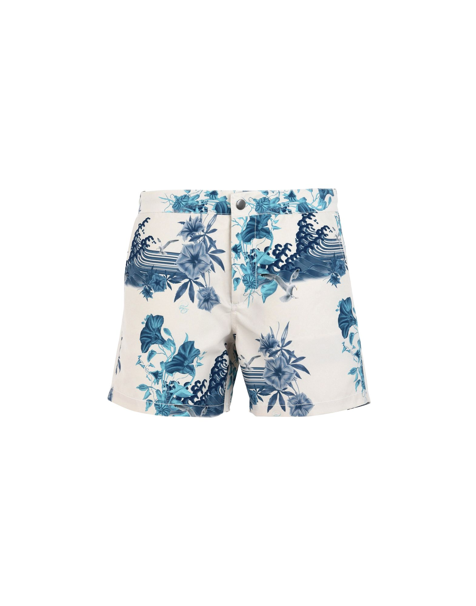 RIZ BOARDSHORTS Swim Shorts in Ivory