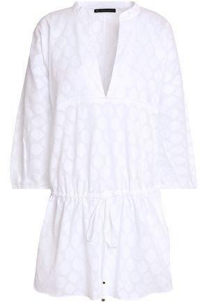 VIX PAULAHERMANNY Christina fil coupé cotton-gauze coverup