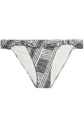 VIX PAULAHERMANNY Printed low-rise bikini briefs