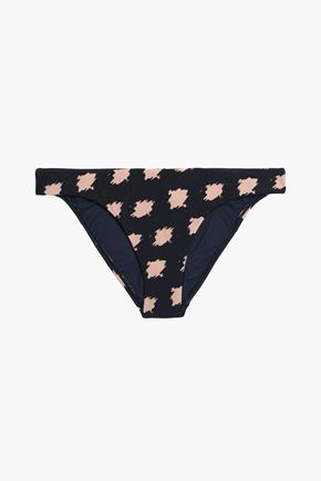 VIX PAULA HERMANNY Printed low-rise bikini briefs