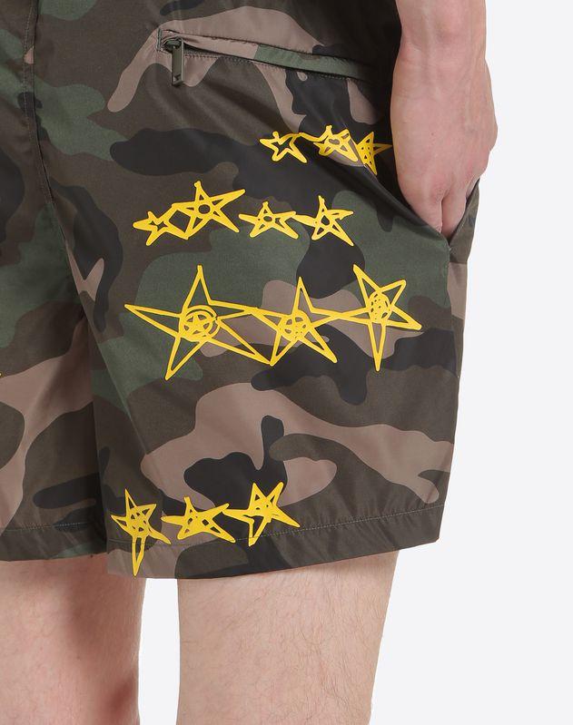 Zandra Stars print swimwear