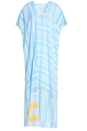 LEMLEM Striped cotton kaftan