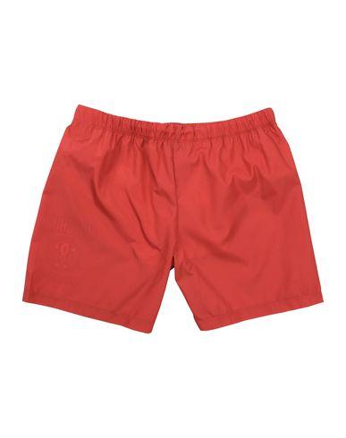 MOSCHINO Jungen Badeboxer Rot Größe 10 100% Polyester
