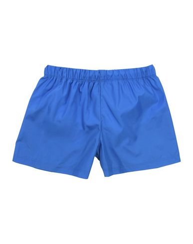 MOSCHINO Jungen Badeboxer Azurblau Größe 4 100% Polyester