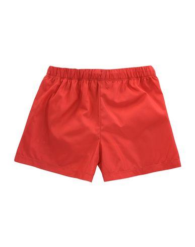 MOSCHINO Jungen Badeboxer Rot Größe 4 100% Polyester