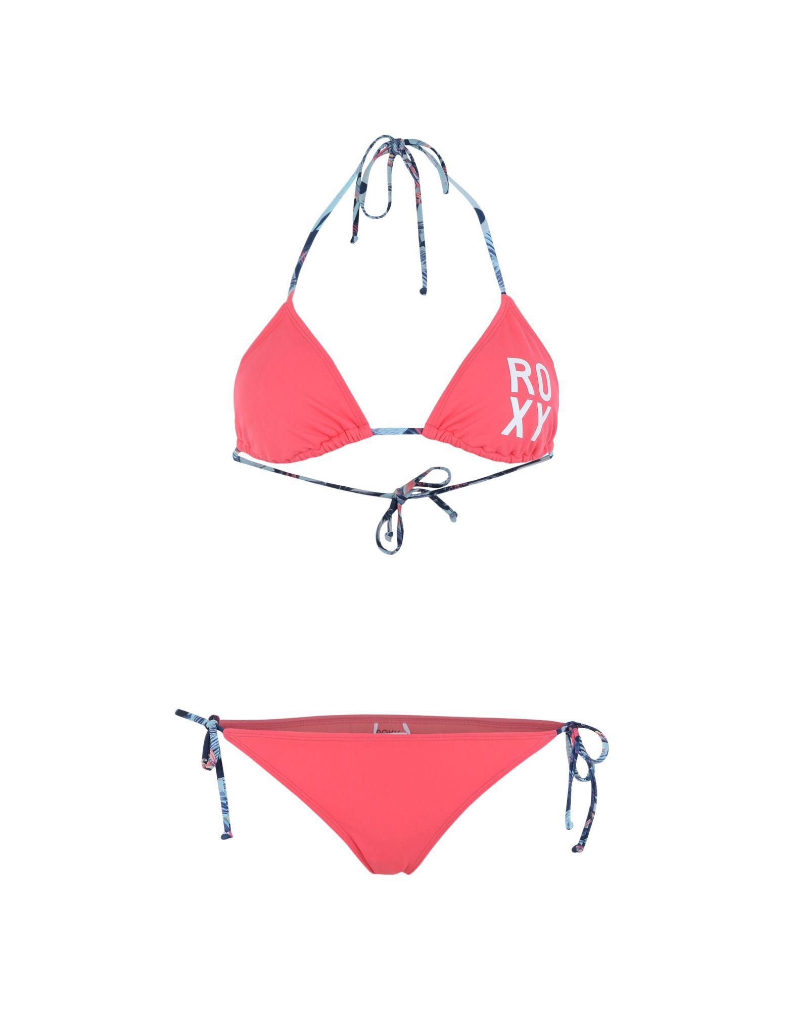 《セール開催中》ROXY レディース 水着(ビキニ) フューシャ S ナイロン 80% / ポリウレタン 20% RX Bikini Roxy Essentials Tiki Tri/Scooter