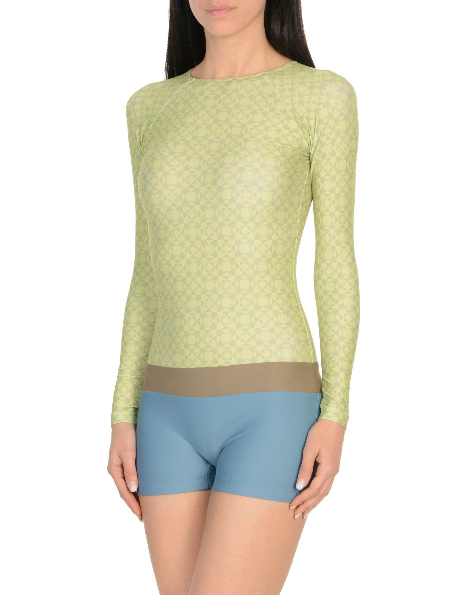 SEEA One-Piece Swimsuits in Light Green