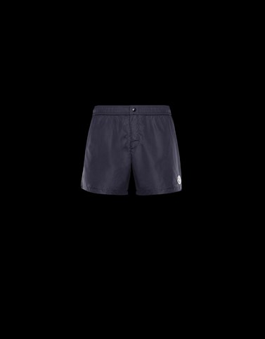 SWIM SHORTS Dark blue Swimwear Man