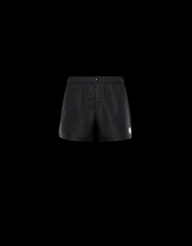 BOXER SHORTS Black Trousers