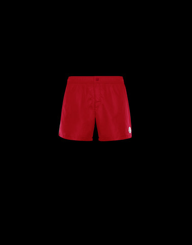 SWIM SHORTS Red Trousers