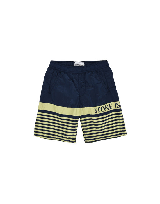 Badeboxer B0415 NYLON METAL STONE ISLAND JUNIOR - 0