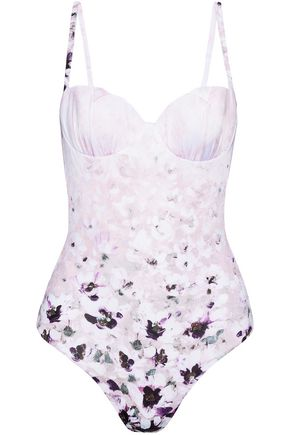 LA PERLA Floral-print swimsuit