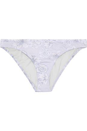 EBERJEY Floral-print low-rise bikini briefs