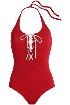 LOVE STORIES Lace-up swimsuit