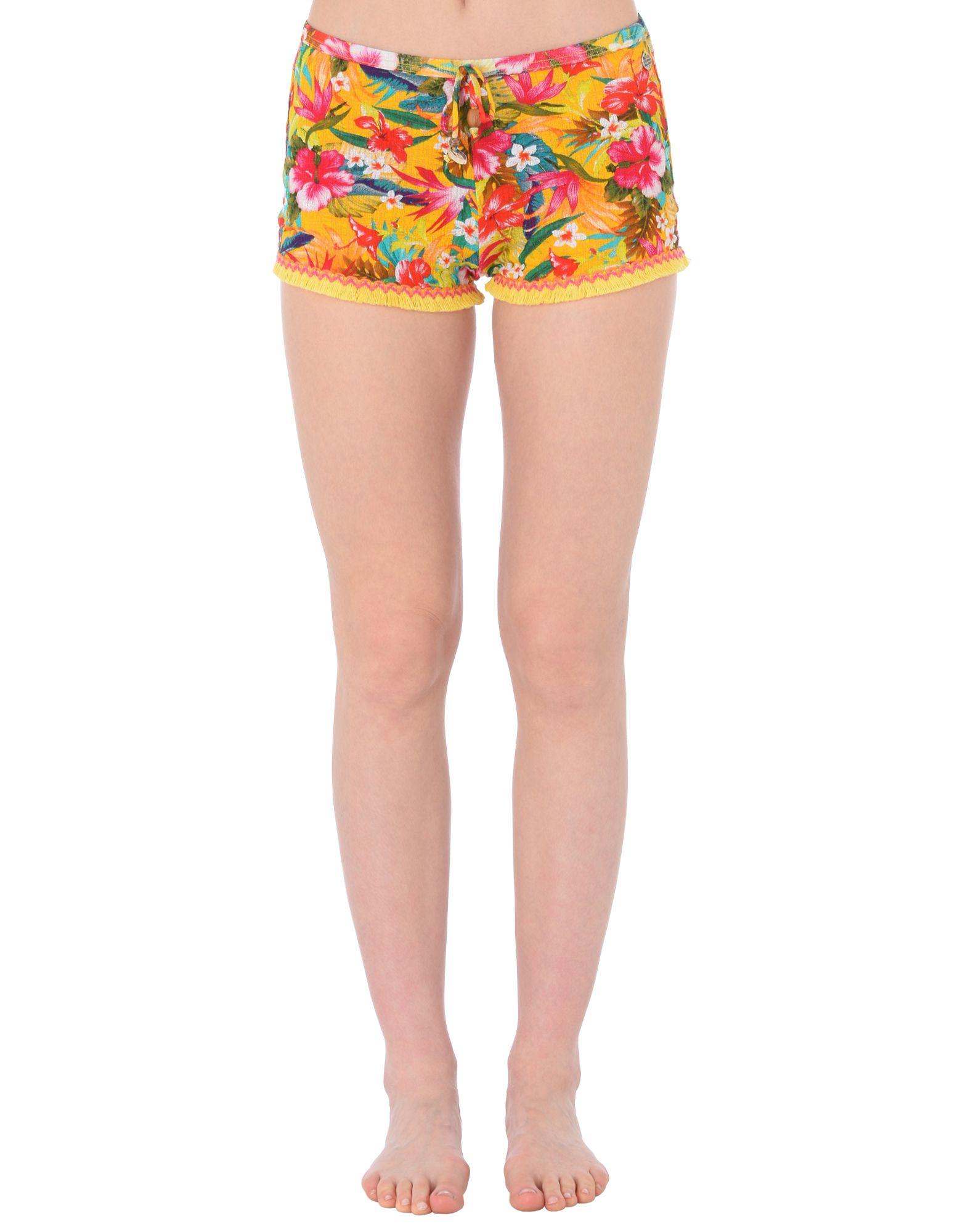 BANANA MOON Пляжные брюки и шорты шорты пляжные