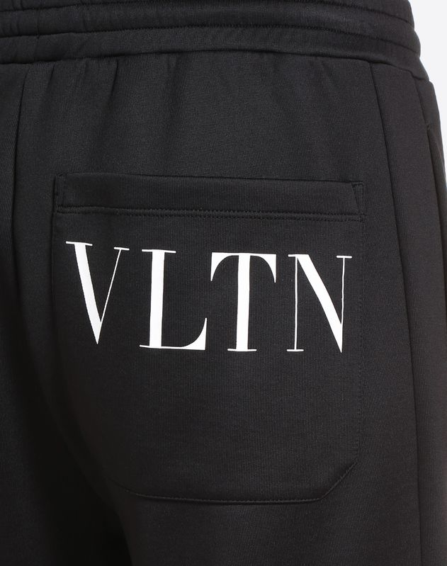 TROUSERS WITH REAR VLTN PRINT