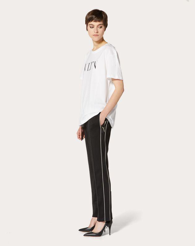 Pantalon VLTN en techno jersey