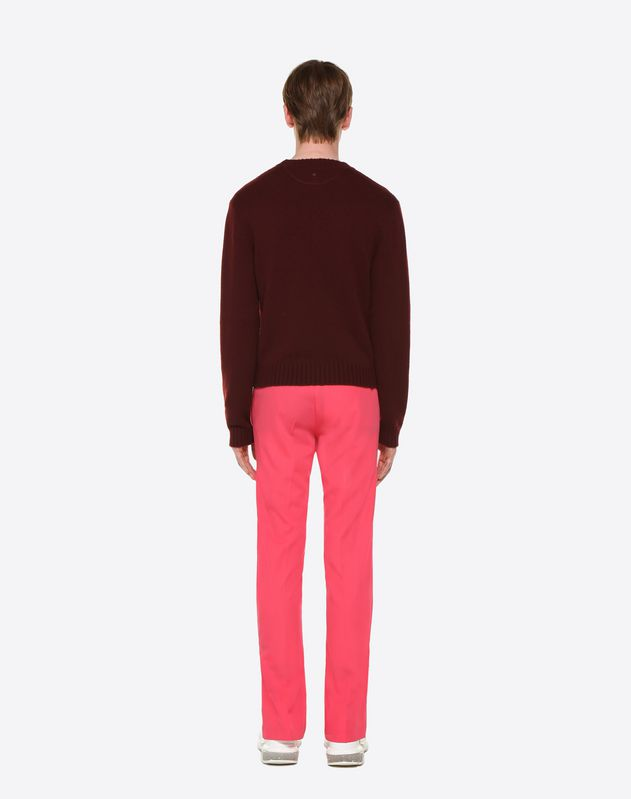 TROUSERS WITH DRAWSTRING AND SIDE STRIPES