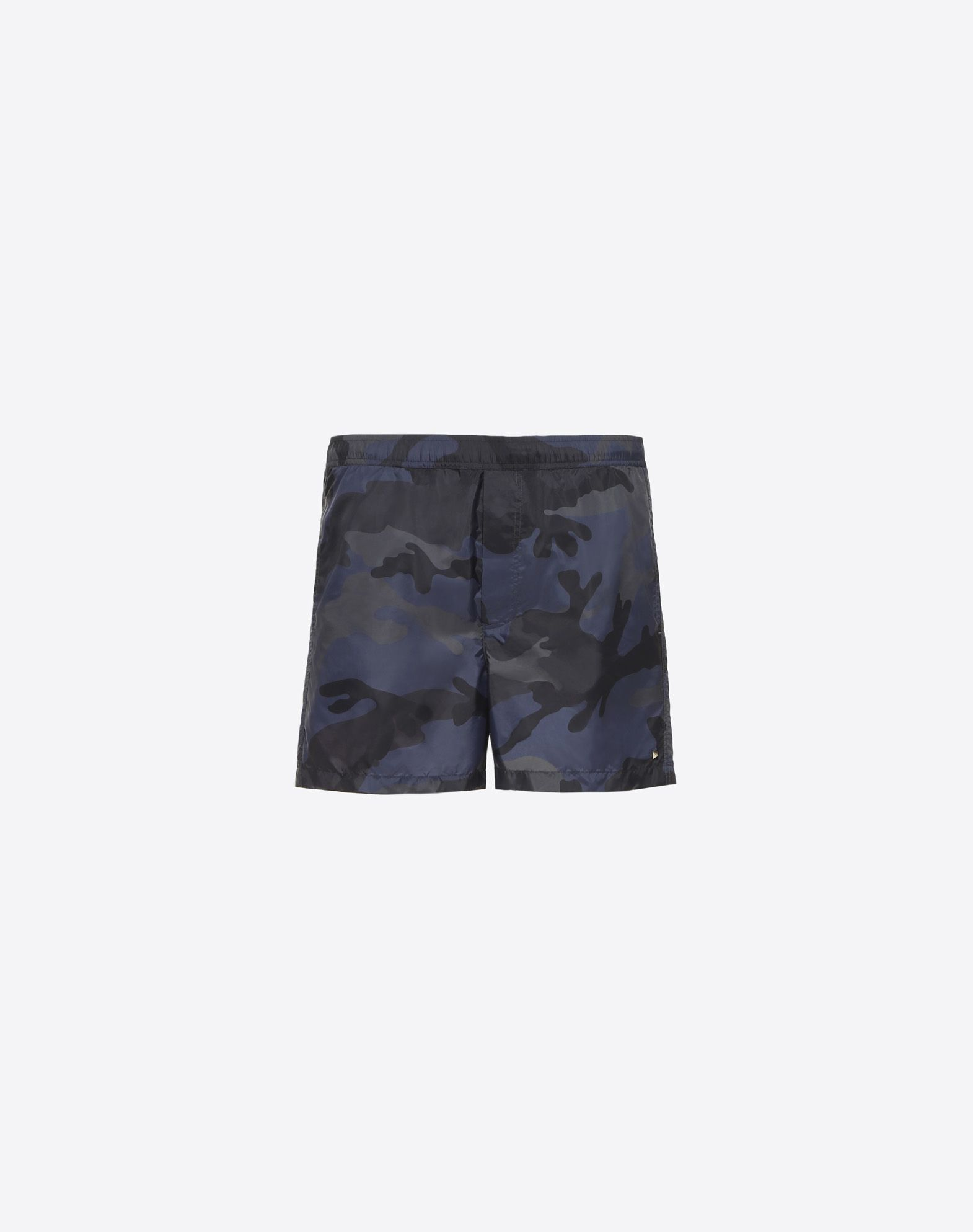 CAMOUFLAGE PRINT SWIMMING SHORTS